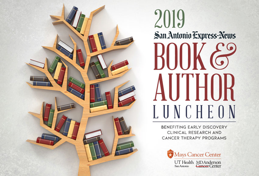 2019 Book & Author Luncheon banner