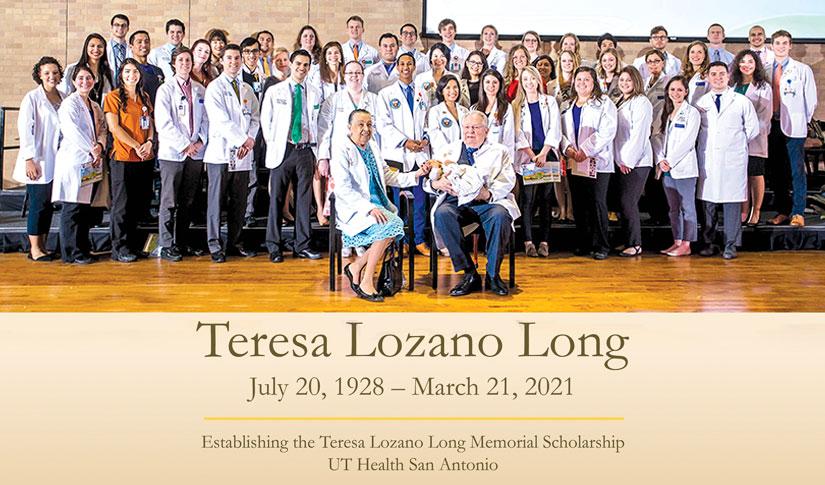 Teresa Lozano Long Endowed Memorial Scholarship