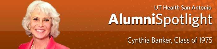 Alumni Spotlight - Cynthia Banker