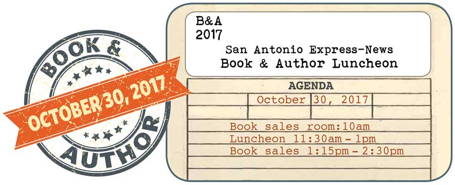 2017 Book & Author Luncheon banner