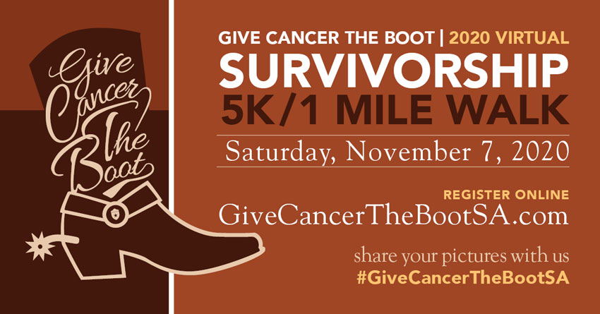 Give Cancer the Boot Survivorship 5K & 1 Mile Walk