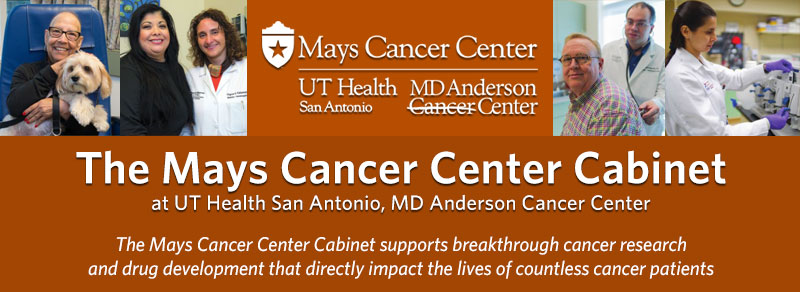 Cancer Center Cabinet banner