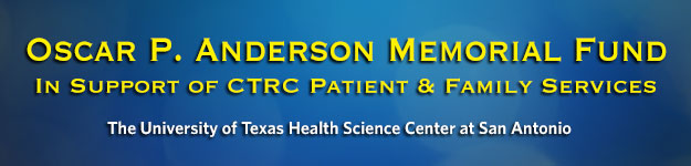 Oscar P. Anderson Memorial Fund – In Support of the UT Health Cancer Center Patient & Family Services