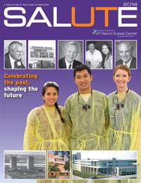 SALUTE magazine 2014 cover