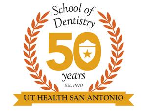 School of Dentistry 50th Anniversary logo