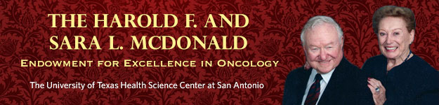 The Harold F. and Sara L. McDonald Endowment for Excellence in Oncology