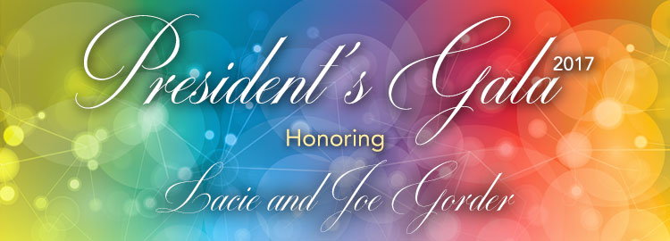 President's gala 2017 Honoring Lacie and Joe Gorder