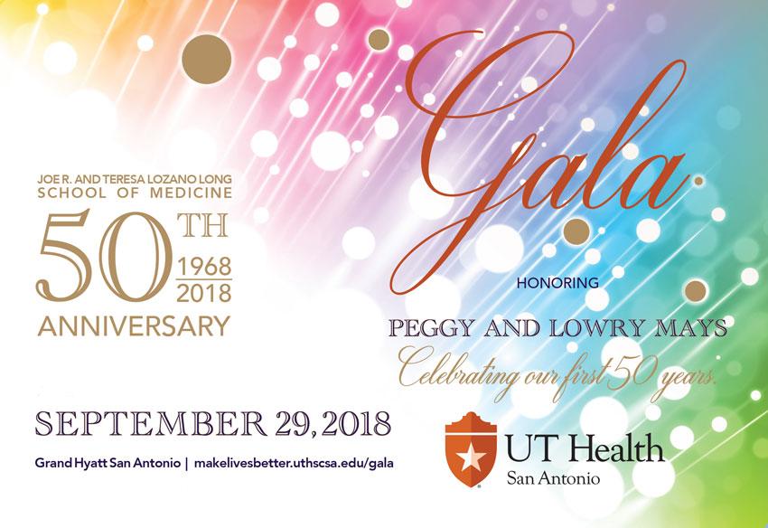 President's Gala 2018 banner