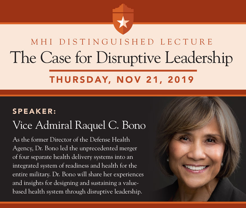 Military Health Institute Distinguished Lecture