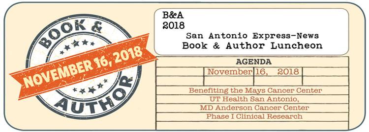 2016 San Antonio Express-News Book & Author Luncheon banner
