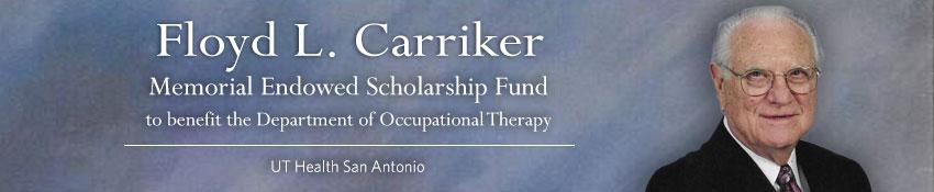 Floyd L. Carriker Memorial Endowed Scholarship Fund