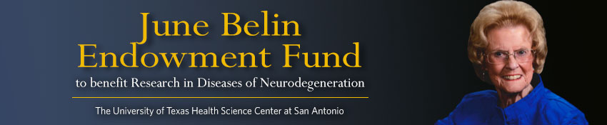 June Belin Endowment Fund to benefit Research in Diseases of Neurodegeneration