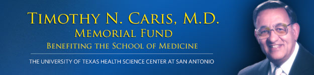 Dr. Timothy N. Caris Memorial Fund banner