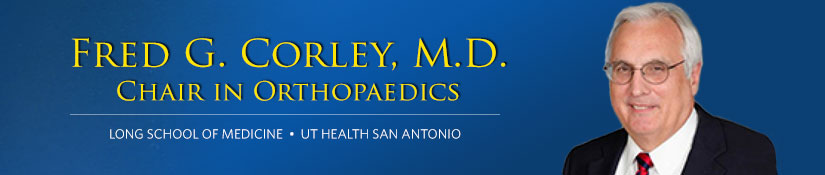 Fred G. Corley, M.D. Chair in Orthopaedics
