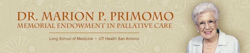 Dr. Marion P. Primomo memorial