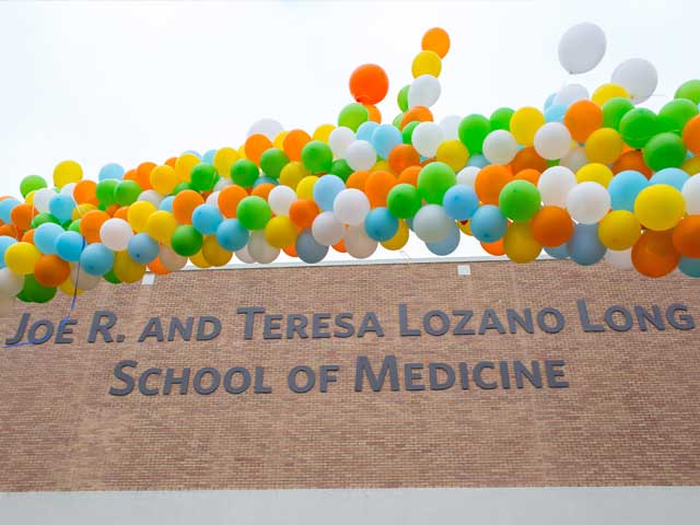 Joe R. and Teresa Lozano Long School of Medicine
