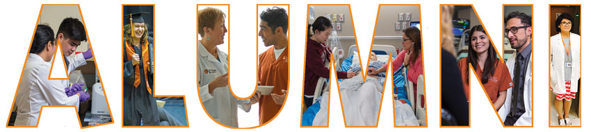 School of Nursing Alumni association banner