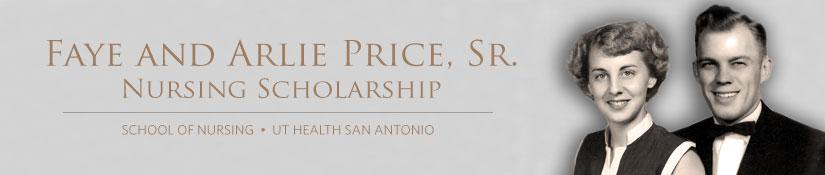 Faye and Arlie Price, Sr. Nursing Scholarship
